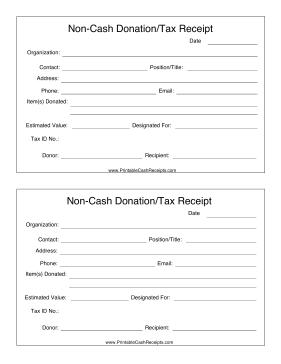 Non Cash
