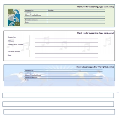 Printable Fundraiser - include charity organization name and information